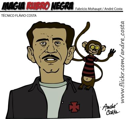 Flavio Costa e o Mico