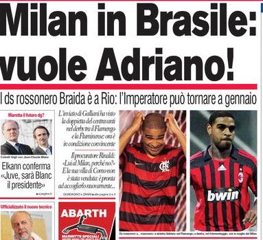 Milan - Adriano